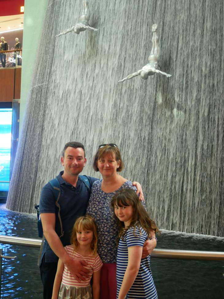Round the world with my family - 36 hours in Dubai
