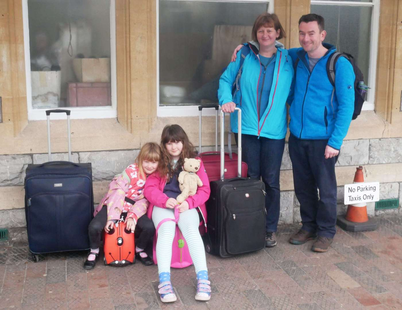 Family Travel Blog - Departure Day