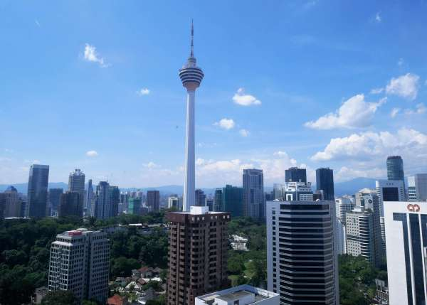 Round the world with my family in Kuala Lumpur