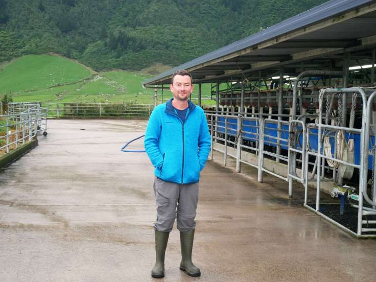 Round the world with my family milking the cows
