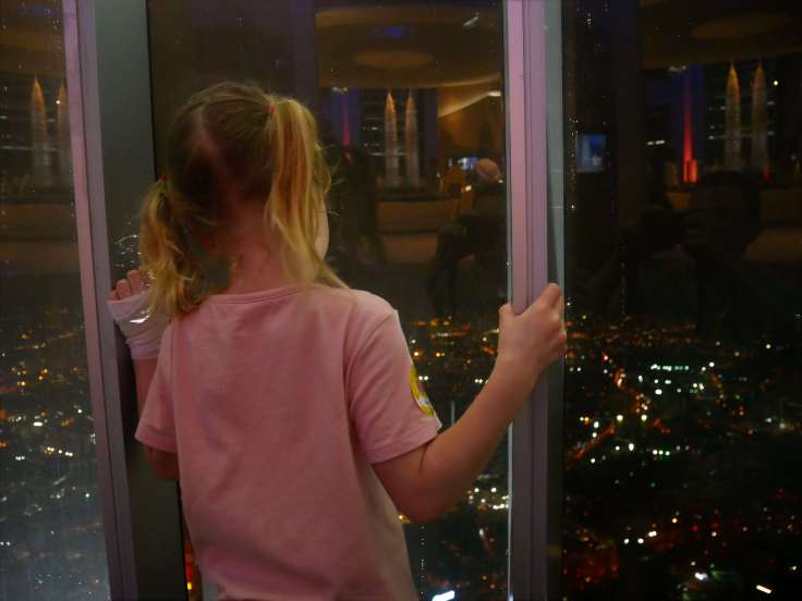 Round the world with my family at Petronas Towers