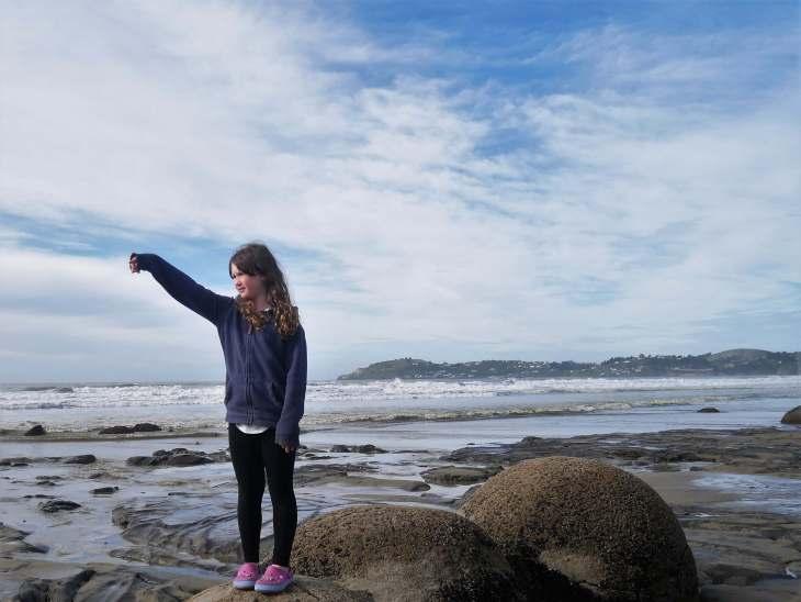 Family travel blog - NZ campervan