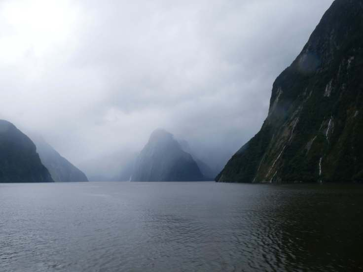 Family travel blog at Milford Sound