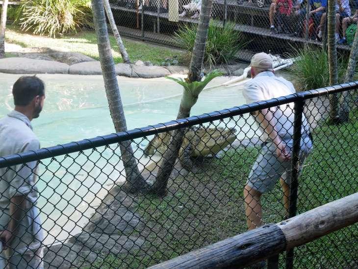 RTW family at Australia Zoo