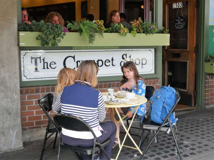 The Crumpet Shop, Seattle
